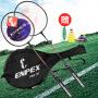 【领券下单立减30元】ENPEX/乐士羽毛球拍铁合金对拍套装含三只装耐打羽毛球情侣对拍737
