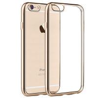 坚达 手机壳 电镀软壳/手机套/透明保护壳  适用于iphone6 4.7英寸电镀边软壳