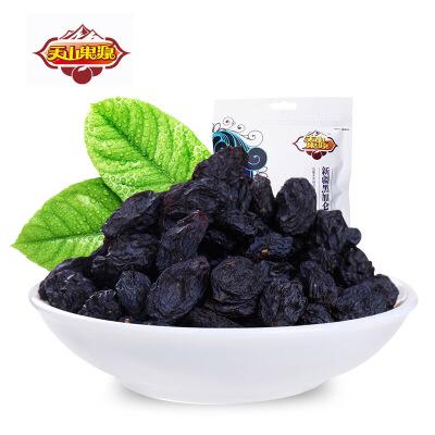 天山果源 新疆特产黑加仑葡萄干180g颗粒饱满  甜蜜香郁