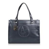 AJ ARMANI JEANS阿玛尼 经典logo装饰女士手提单肩包 银泰 支持礼品卡支付