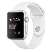 [当当自营] Apple Watch Sport Series 1智能手表(42毫米银色铝金属表壳搭配白色运动型表带 MNNL2CH/A)
