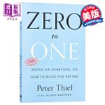 从0到1 英文原版 Zero to One Peter Thiel 从零到一 如何打造未来的创业笔记 创业管理 彼得蒂尔