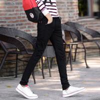 男士休闲裤男长裤修身直筒流行中腰男装夏季薄款纯棉男裤韩版西裤