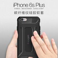 韩国Spigen SGP iphone6S plus硅胶壳保护外壳苹果6S 5.5寸手机壳