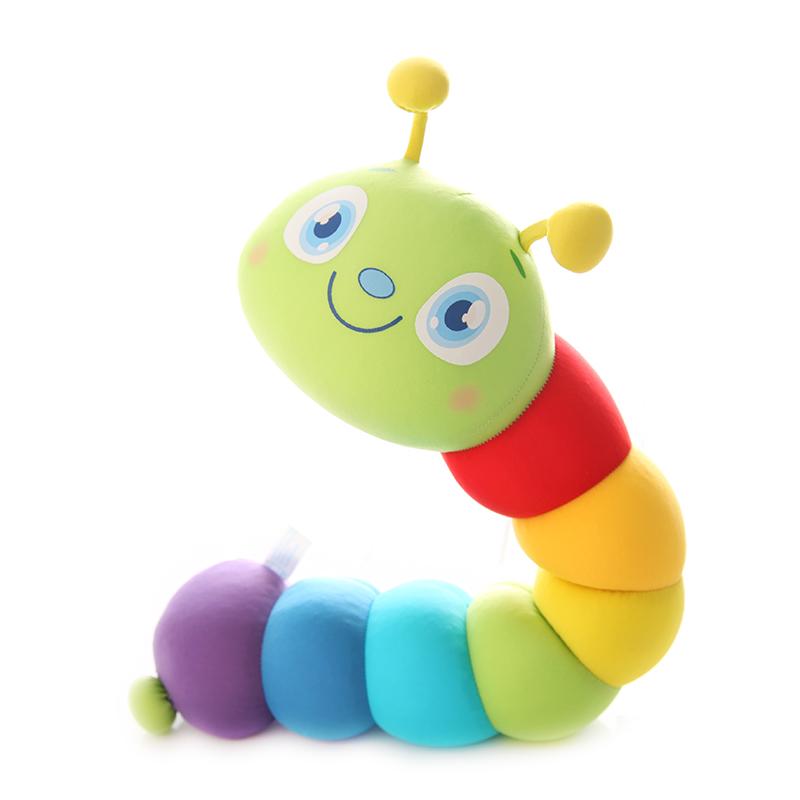 卡通纳米泡沫粒子玩偶毛毛虫公仔可爱大白玩偶布娃娃婚庆礼品玩具