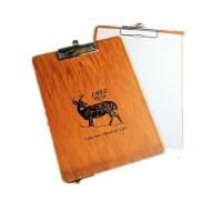 zakka韩版创意大号写字板 木质A4文件夹 速写板画板垫板 木板夹子