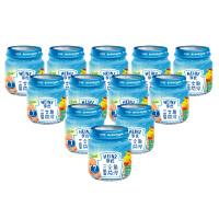 【当当自营】亨氏 Heinz三文鱼番茄泥 2段(6-36个月)113g*12/箱 宝宝辅食