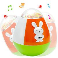 优贝比 奇趣不倒翁 小兔音乐不倒翁 宝宝益智玩具 PF01319