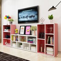 亿家达 简约现代特价简易书架书柜自由组合置物架储物柜收纳柜子
