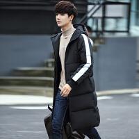 冬装男士棉衣韩版修身外套青年中长款棉服冬天棉袄外套男潮