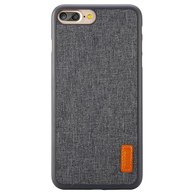倍思艺纹壳苹果7plus手机壳简约文艺保护套iphone7防滑外壳全包边护