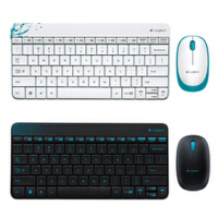 Logitech/罗技 MK240 笔记本电脑游戏无线键盘鼠标套装 黑色 白色 2.4G技术 全国联保 全新盒装正品