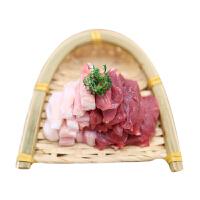 【恒都】半筋半肉1kg 新鲜冷冻牛肉谷物饲养  吃健康放心肉
