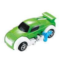 【当当自营】起航益智储能上链变形恐龙小汽车发条自动行走玩具JD-905A绿色