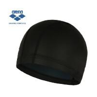 arena阿瑞娜 硅胶莱卡双层泳帽 舒适防水护耳游泳帽男女通用正品