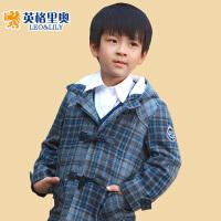英格里奥童装男童冬装新款男童棉衣外套宝宝棉衣男童棉袄