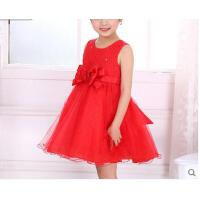 韩版公主裙演出服表演服演出服女童礼服儿童婚纱裙花童公主礼服裙