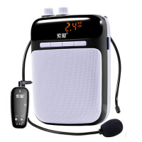 索爱 S-718 无线便携数码扩音器 2.4G大功率小蜜蜂扩音器 教师教学专用扩音机 导游腰挂喇叭