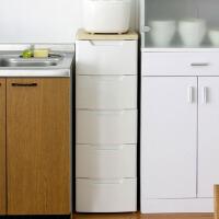 爱丽思IRIS 窄型抽屉柜整理柜环保树脂塑料高档衣柜收纳柜HG-325B
