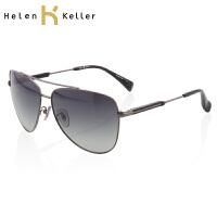 海伦凯勒太阳镜 男蛤蟆镜 墨镜明星款 司机专用 H8250