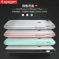 韩国Spigen苹果7plus手机壳新款iphone7 4.7英寸保护套防摔硅胶男女款外壳
