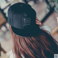 帽子 嘻哈帽 棒球帽 韩版帽子女嘻哈街舞棒球帽户外男士遮阳防晒帽滑板帽情侣帽潮