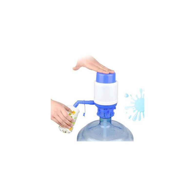 一只装 桶装水手压泵压水器 压水泵