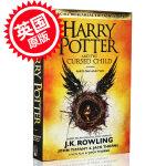 【现货】哈利波特8 英文原版 哈利波特与被诅咒的孩子 J.K.Rowling罗琳  英国版8 Harry Potter and the Cursed Child