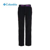 【领卷满400减100】Columbia哥伦比亚女裤户外抗污防紫外线速干长裤PL8135