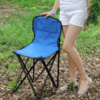 蜗家折叠椅凳子户外便携式沙滩椅 靠背钓鱼椅凳 马扎小凳子152