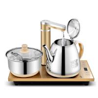 长城 自动上水壶电热水壶抽水电热水壶 烧水壶保温泡茶壶茶具套装煮茶电磁茶炉套装