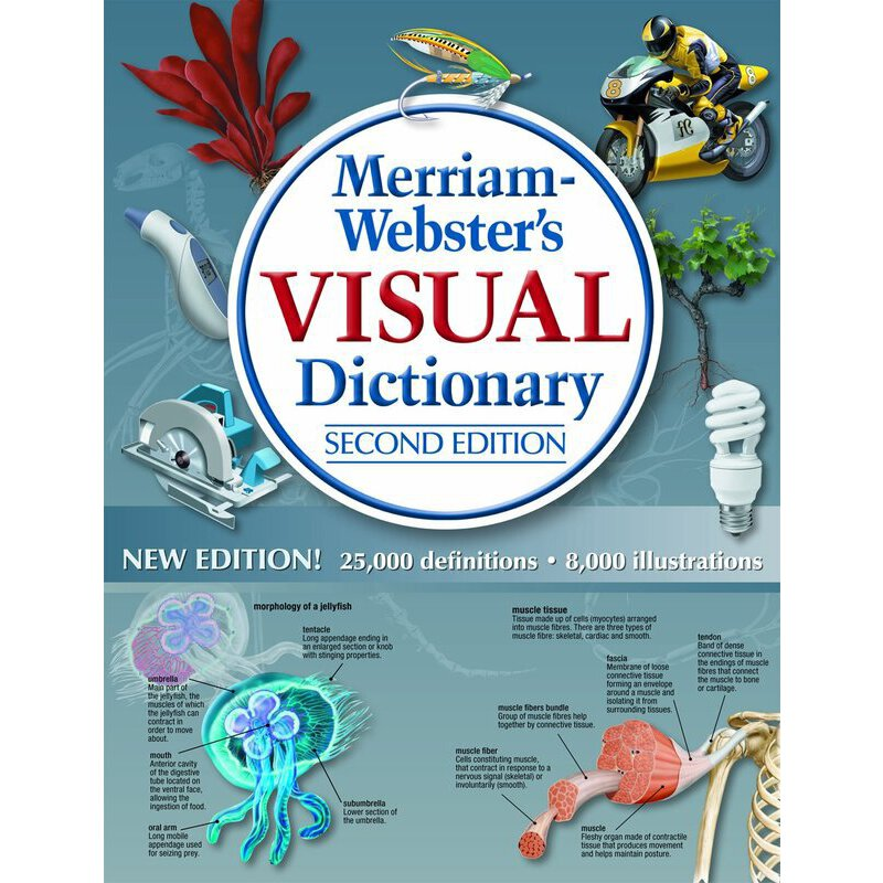 Merriam webster visual dictionary for Visual merriam webster