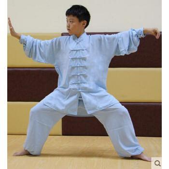 小学生表演服装棉加丝少儿太极男女童武术儿童太极服