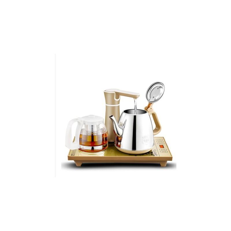长城 自动上水壶电热水壶抽水电热水壶 烧水壶保温泡茶壶茶具套装煮茶