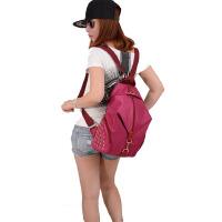 书包女士双肩包尼龙牛津布包女休闲百搭旅行背包学院风旅行包