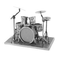 全金属 DIY拼装模型 3D纳米立体拼图 乐器系列 钢琴 主吉他 低音大提琴 贝斯低音吉他 架子鼓