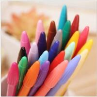 韩国良品 慕那美3000monami彩色水性笔水粉中性勾线笔 草图笔 24种颜色可选