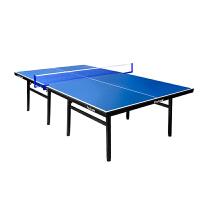云博 飞尔顿 乒乓球桌可折叠标准室内乒乓球台 滑轮款