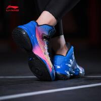 李宁男子2017新款减震篮球鞋专业比赛鞋魅影2017高帮男运动鞋ABAM007