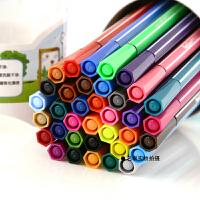 真彩可水洗无毒水彩笔套装 儿童涂鸦绘画彩色画笔桶装12 18 24 36色