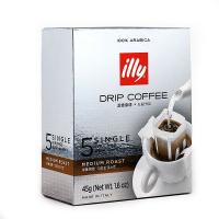 【春播】意大利知名品牌 illy滤挂咖啡中度烘焙 5*9g