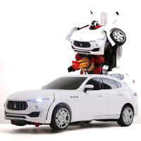 【当当自营】美致仿真1:10遥控变形玛莎拉蒂莱万特模型儿童电动遥控玩具车2392S