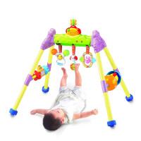 澳贝钢琴健身架宝宝带音乐玩具0-3-6个月1岁新生婴儿童早教健身器