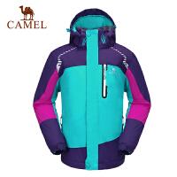 camel骆驼 秋冬新款儿童夹棉保暖冲锋衣户外服