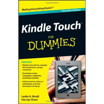 (第三方)Kindle Touch For Dummies Portable Edition [ISBN: 978-1118290774]