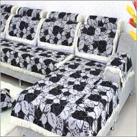 福存家居 沙发垫 坐垫 布艺 雪尼尔 沙发巾 沙发套 沙发罩 加厚防滑 飘窗垫