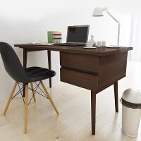 择木宜居 台式电脑桌子办公桌 组合书桌  铁架脚写字台电脑台
