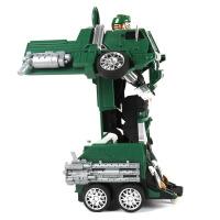 【当当自营】美致模型1:14遥控变形战神系列仿真路虎军车模型儿童电动玩具车2809S