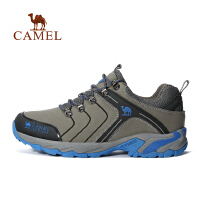 camel骆驼户外情侣徒步鞋 男女款耐磨减震登山徒步鞋