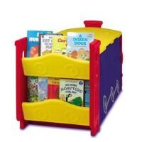 美国Crayola 绘儿乐火车头储物柜5037 儿童玩具储物柜 大容积储物箱 开学必备 学生用品儿童文具
